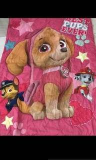 Instock Paw Patrol authentic Skye kids blankets brand new ht 150cm wt110cm