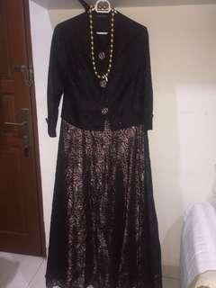 Prom Brokat Dress