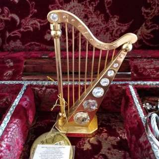 Crystal harp from Venice, Italy