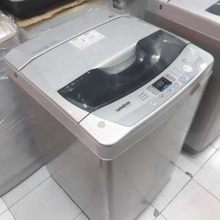 LG.7KG fully automatic washing machine. 95.%Ok Good condition one month warntey 01133530275 call me WhatsApp