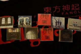 TVXQ Japanese albums