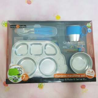 Innobaby Stainless Mealtime Set