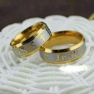 Faith Couple Ring (2tone)