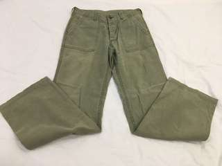 Fatigue Pant Green Army Military