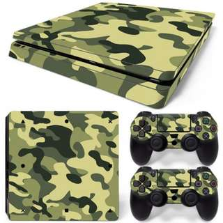 PS4 PLAYSTATION 4 SKIN - CAMOUFLAGE