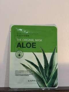 Face Mask korea Aloe / masker muka korea