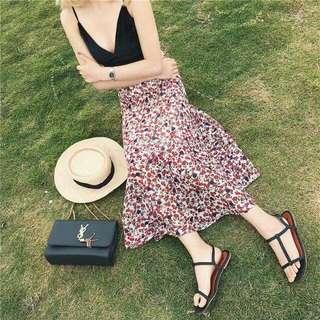 Colored Beach Skirt
