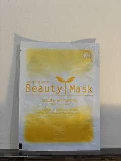 Masker pemutih wajah dari korea