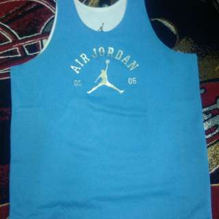 Air Jordan reversible jersey Large