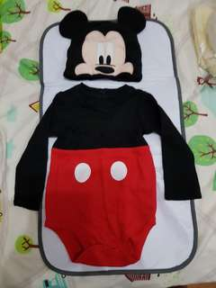 Authentic Mickey mouse suit