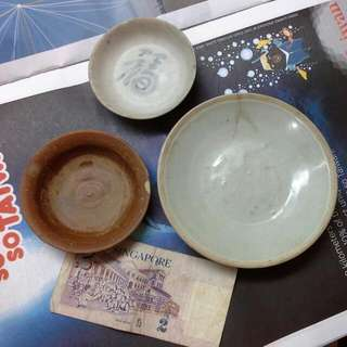 3 China Song And Ming Dynasty Antique Ceramic Plates For $68