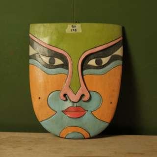 Dekorasi Topeng  bahan Kayu (BU.129)