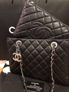 Authentic Chanel Small Shopping Tote