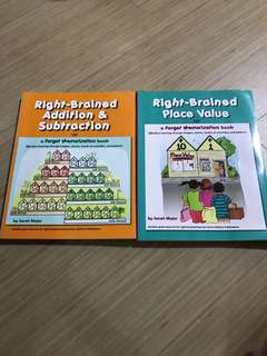 Right brained books (shichida, heguru)