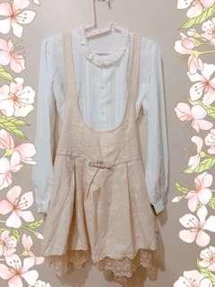 Secret Magic JSK + White long sleeves top