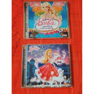 BARBIE original movies (Lot of 4 vcds)