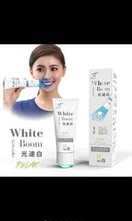 Led Light Whitening Japan Li-Zey White Boom Toothpaste