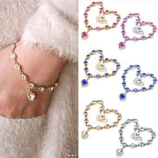 Women Fashion Korea Heart Style Bracelet
