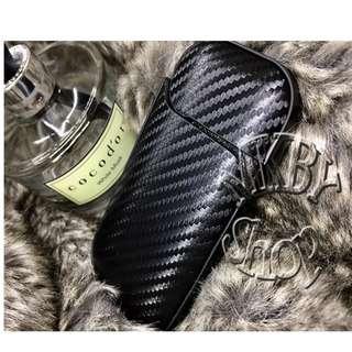 🚚 現貨 碳纖質感皮套 IQOS 2.4 / 2.4plus 保護殼 保護套