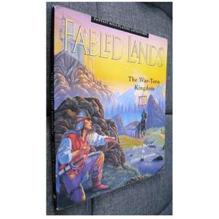 Fabled Lands #1 The War-Torn Kingdom Gamebook by Dave Morris