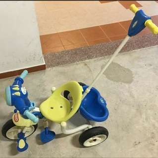 Kids tricycle stroller
