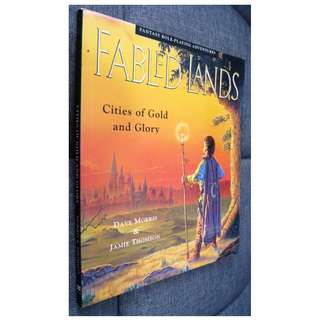 Fabled Lands #2 Cities of Gold and Glory Gamebook by Dave Morris