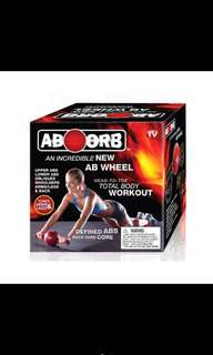 AB Orb AB Wheel Exercise Equipment Power Wheels Train Toning Shapes Body