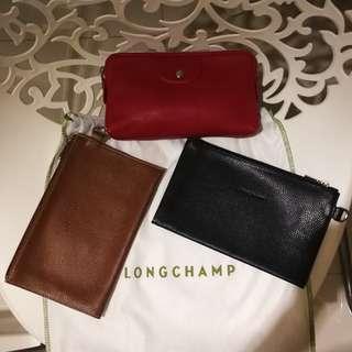 ⚡ Flash Deal | Authentic Longchamp Leather Clutch