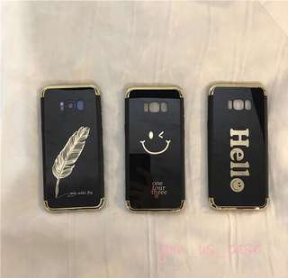 Samsung galaxy S8&S8+光面手機軟殼(三款圖案選擇)