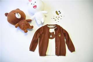 LINE Friends Adult and Kid Cardigans