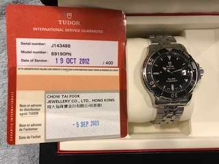 Tudor 89190PN Men Size