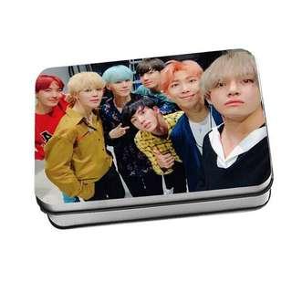 BTS Polaroid tin case