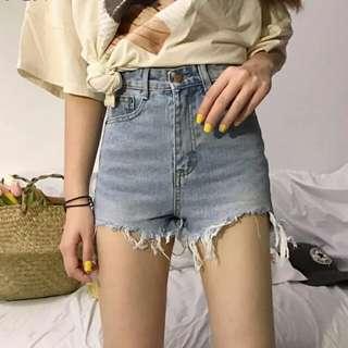 👍👍不規則顯瘦高腰短褲