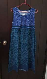 全新 AS KNOW AS 連身裙 FREE SIZE  包順豐                                                                                        裙2邊有口袋 全長約40.5寸 胸36寸