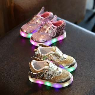 Wing kids lights LED Shoes #1