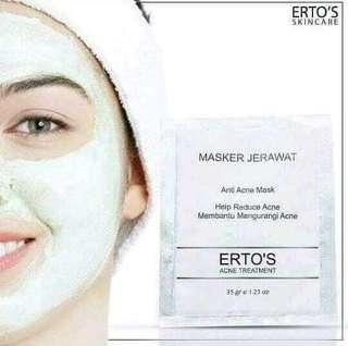 Masker ertos jerawat kekinian BPOM