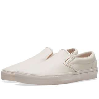VANS CLASSIC SLIP ON DX Leather