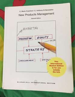 New Products Management 11th ed. Crawford