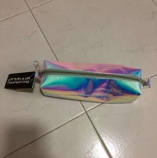 H&m Holographic Pencil Case BNWT