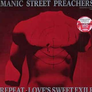 "arth12 MANIC STREET PREACHERS Repeat / Love's Sweet Exile Limited Edition Gatefold 12"" Inch Single Vinyl Record"