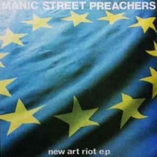 "arth12 MANIC STREET PREACHERS New Art Riot EP 12"" Inch Single Vinyl Record"