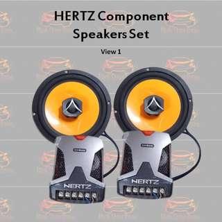 Hertz Component Speakers Set