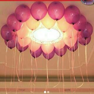 25pcs metallic balloon
