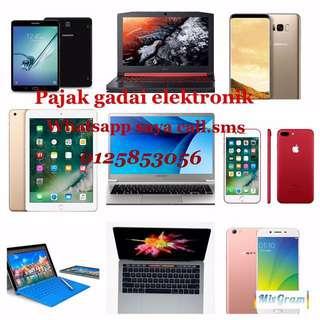 Pajak gadai IPhone , laptop , iPad , macbook , tv , kamera ,smartphone Dan lain elektronik 0125853056