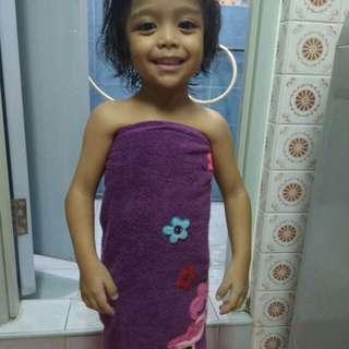 Kids towel