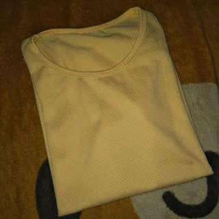 Yellow pastel shirt