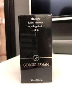 Giorgio Armani 3號色Maestro fusion makeup maquillage cushio SPF15