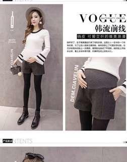 Dark Grey Maternity Shorts
