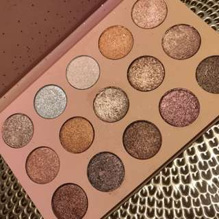 Colour Pop golden state of mind palette