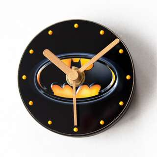 Little 3D Magnetic Fridge Door Clock - Batman Clock